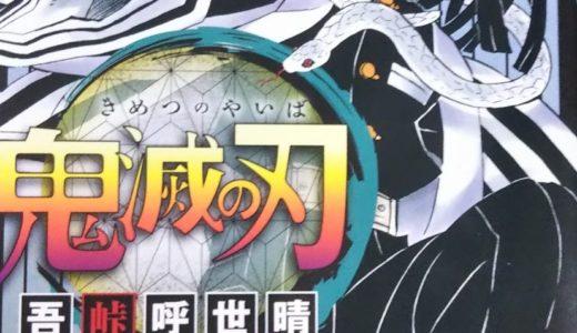 鬼滅の刃19巻を読んでみて~しのぶにゾワッ!、実弥にキュン!~